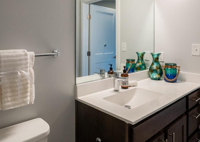 Bathroom, view of vanity
