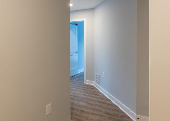 Hallway in unit